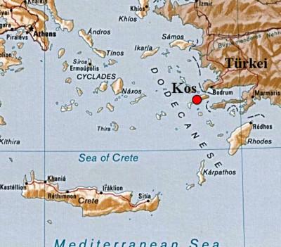 griechischen inseln karte