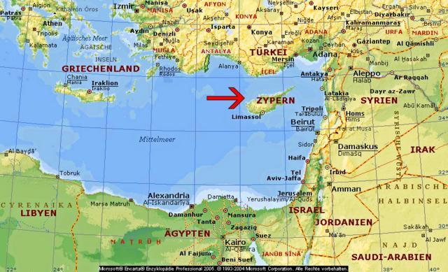 Zypern 1994 Und 1996